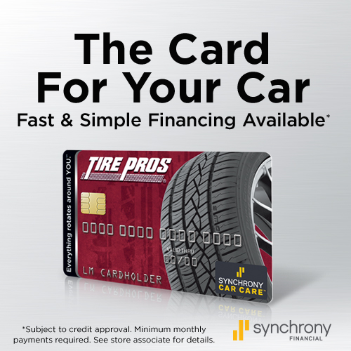 Tire Pros Financing available at Ron Gordon's Tire Pros!